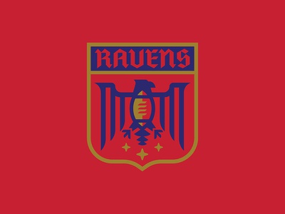 Ravens design typography branding sports logo football sports branding logos logo vector sports illustration