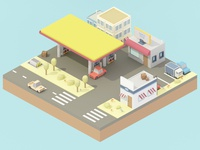 Gas Station #1