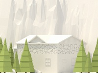 Low Poly Cabin