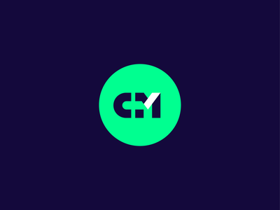 Monogram branding logo website logo design icon design