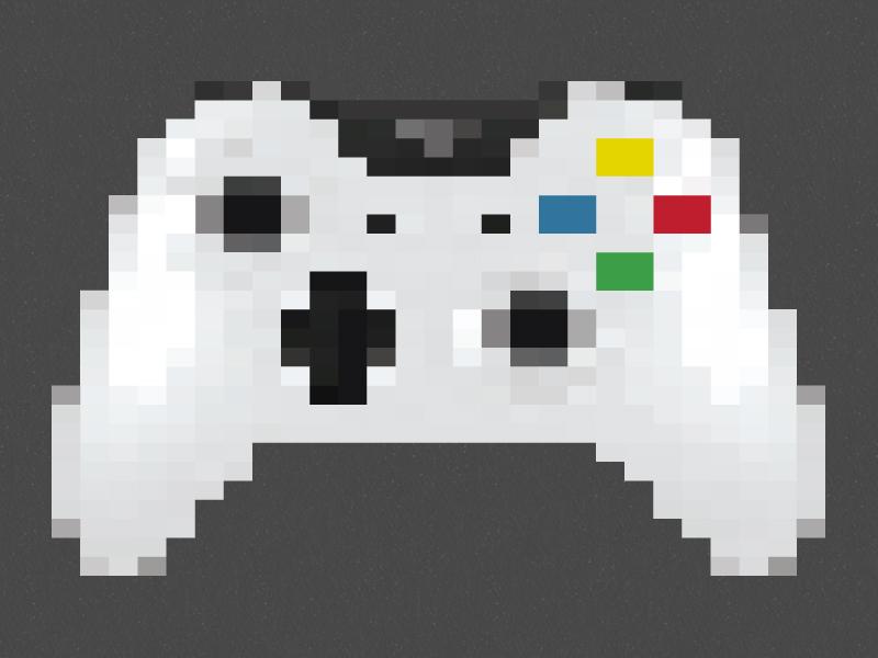 pixel art xbox one