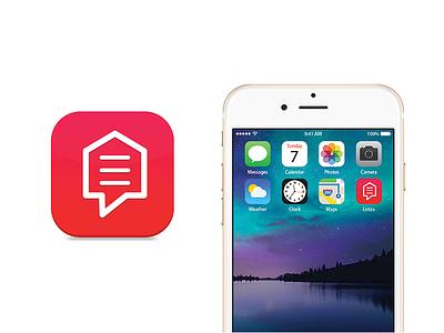 Listzu Icon icon designer house app iphone app apple icon mobile app app icon app icon logo