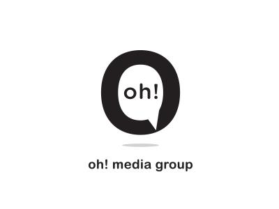 Oh! Media Group company logo ads media group omg oh! logo lounge logo