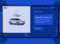 Hyundai Website Landing Page (one)
