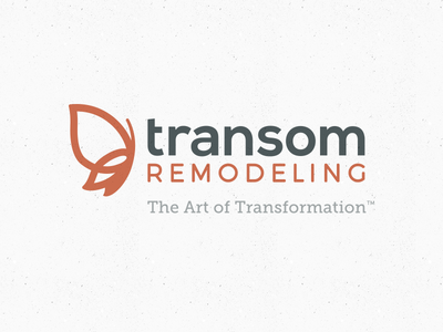 Approved logo for remodeling company. hammer butterfly metamorphosis transformation remodeling construction