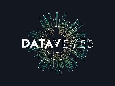 New identity for Dataveyes dataviz datavisualization website logo identity generated eye data data visualization