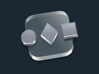 SwitchGlass Icon glass icon
