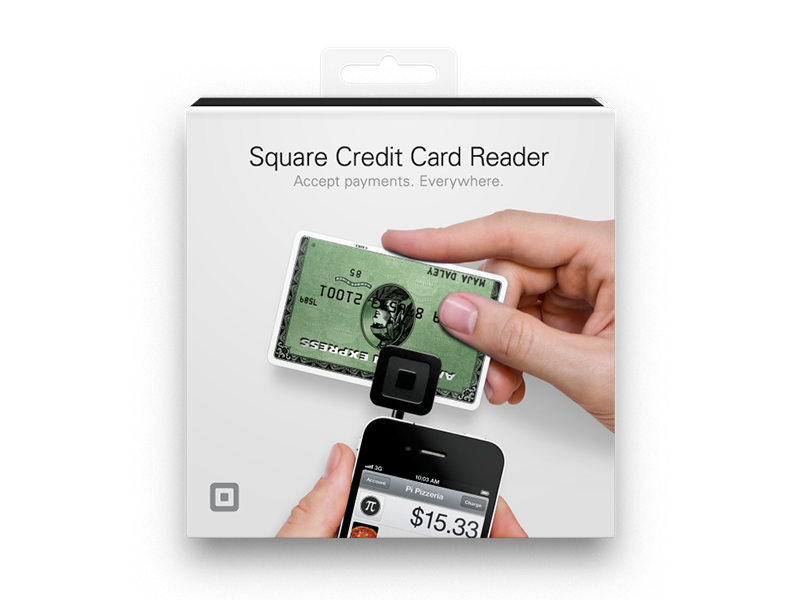 Square retail packaging