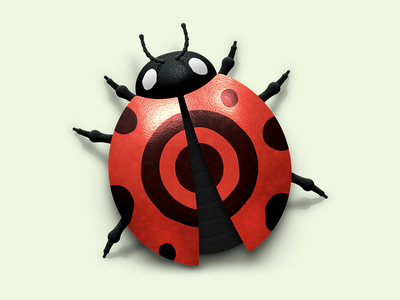 Script Debugger App Icon ladybug