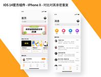 Ios14-IPhoneX flat design ux ui icon app