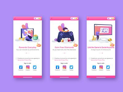 欧美女性向游戏-写实风格-01 ui icon ux app
