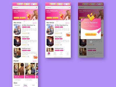 欧美女性向游戏-写实风格-02 character icon design ux app ui