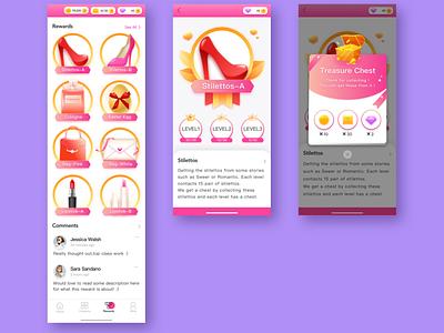 欧美女性向游戏-写实风格-06 character art illustration flat design ui icon app ux