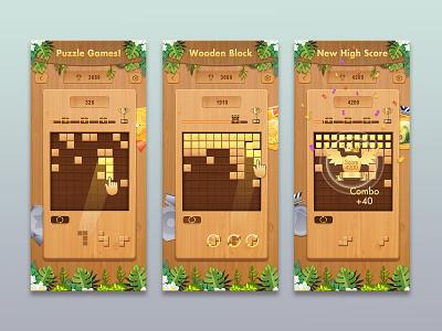 Wooden Block Blust 欢迎下载 illustration design app art ux icon ui