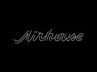 Airhouse Duo script logotype letters logo type design branding lettering focus lab typography