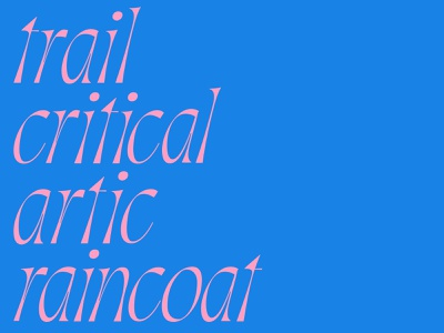 Italics contrast serifs italic letters type color branding focus lab typography
