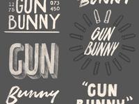 Gun Bunny Sketches