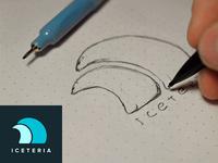 Iceteria Logo - 1st step