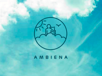 Ambiena logo design variation 2