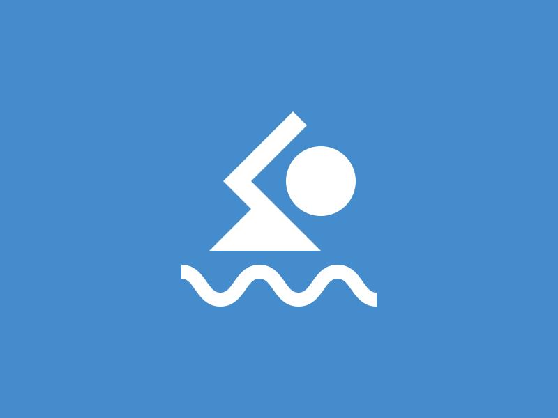 Swim water swimming icon swim pool