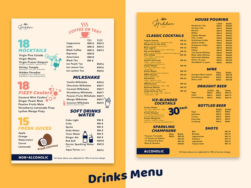 Restaurant Bar Menu Design bar menu restaurant menu restaurant menu design restaurant layout design vector illustration vectorart vector drinks menu drinks menu template menu bar menu menu design design