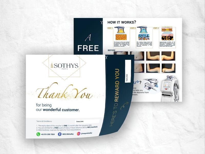 Sothys Voucher Design printing layout design vouchers productvoucher voucher design voucher