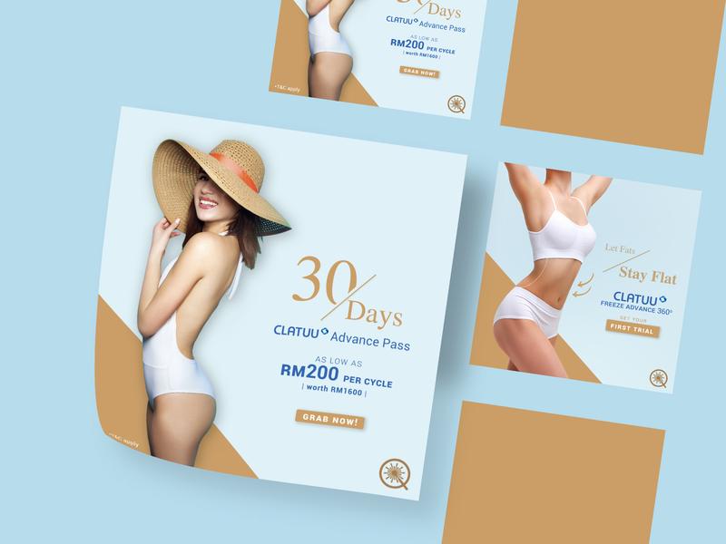 MEQ Square Voucher Ads Design layout layoutdesign adobe photoshop voucher design voucher design layout design