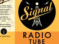Signal Radiotube label