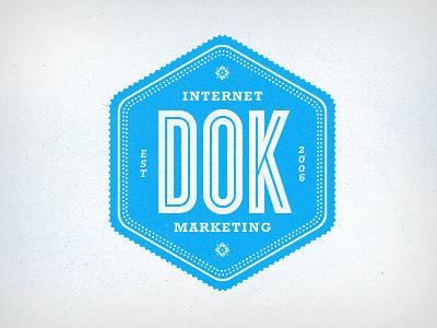 DOK logo logo cyclone