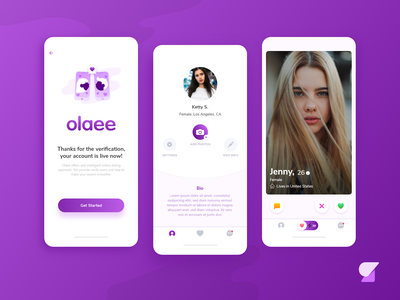 Olaee App web design app designer prototype mobile app development development ios iphone android ux illustrator web app icon branding ui logo design illustration