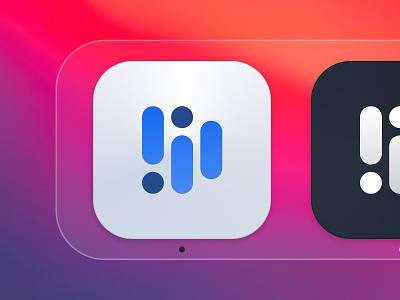 ✨ BigSur Icon Exploration – Distributor desktop app modern icon macos bigsur minimal logodesign logo design color palette branding brand