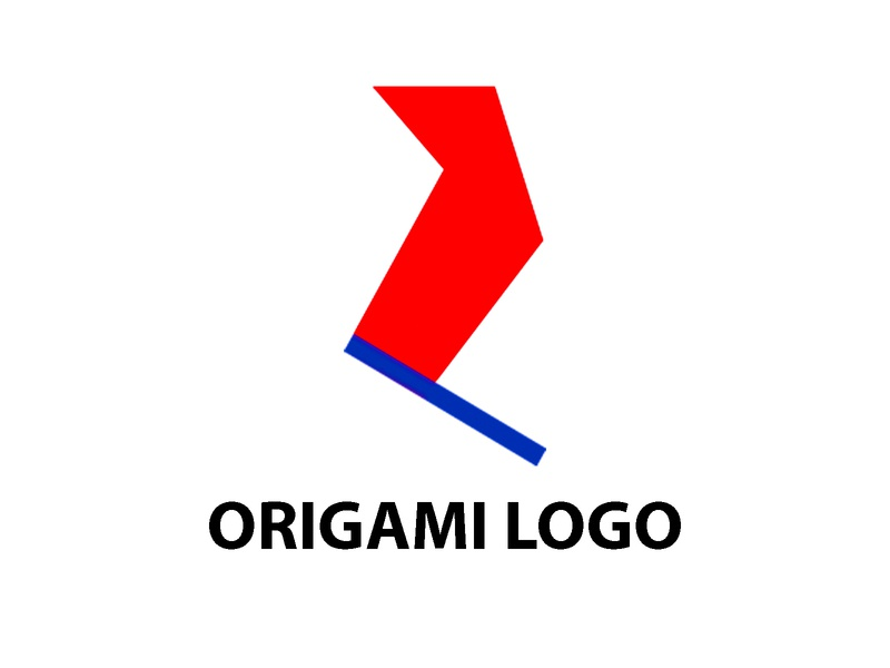 ORIGAMI LOGO origami logo origami giraffes origami logo fun logo initial logo logoinspiration professional logo simple logo unique logo memorable playful logo identity logo concept branding concept branding and identity brand brand identity brand design modern logo design