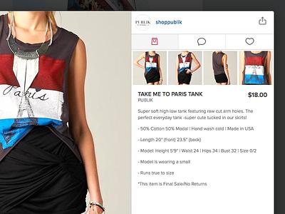 Trendabl Lightbox 45royale web app lightbox shop fashion icons