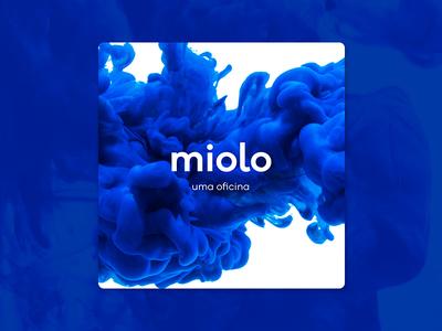 Miolo Workshop Identity