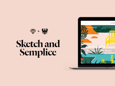 Sketch and Semplice
