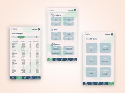Application Design graphic  design layoutdesign application ui design app app ui art ui design