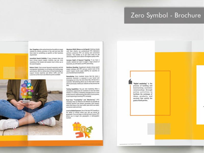 Magazine  - Zero Symbol branding and identity branding concept design layout artwork graphic design magazine design