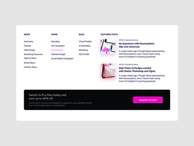 Footer Design footer menu inspirational design web design footer design footer