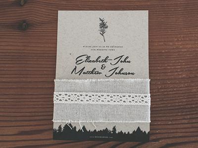 Rosemaryme - Invitation 2 design wedding graphic print zazzle invitation
