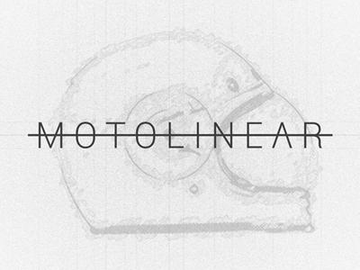 Motolinear design illustration motorcycle motorcycles logo brand
