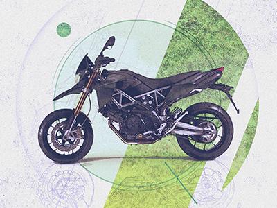 Motolinear #1 - Aprilia Dorsoduro 750 design illustration motorcycle motorcycles logo brand aprilia dorsoduro dorsoduro750