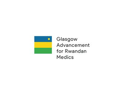 GlasgowARM Logo - Unused Concept vector design geometry medicine glasgow rwanda branding logo