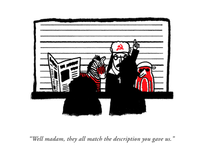 Whodunnit??? illustration editorial pun humour gag comix comic cartoonist cartoon