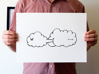Birth of a Cloud - A3 Silkscreen Print