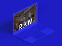 Raw Culture Hotel Website