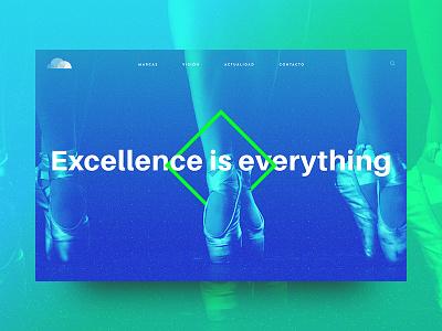 Portfolio Concept logo cloud blue green concept header portfolio