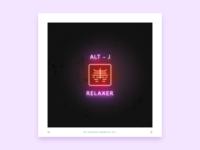 Alt-J - Relaxer (Alt Cover) top albums of 2017 sketch photoshop alt-j album cover cover album