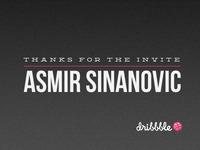 Thanks Asmir!