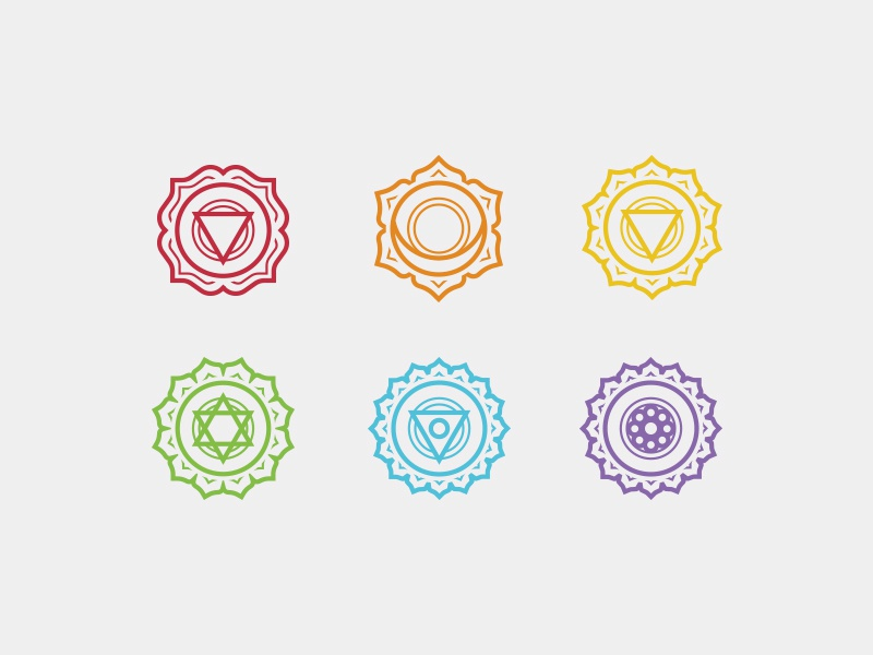 Chakras By Liam Flaherty Dribbble