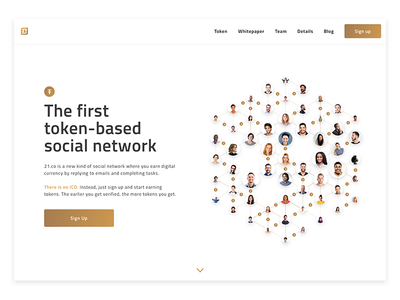 The Social Token ethereum cryptocurrency token web